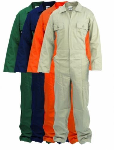 verschillende kleuren overalls